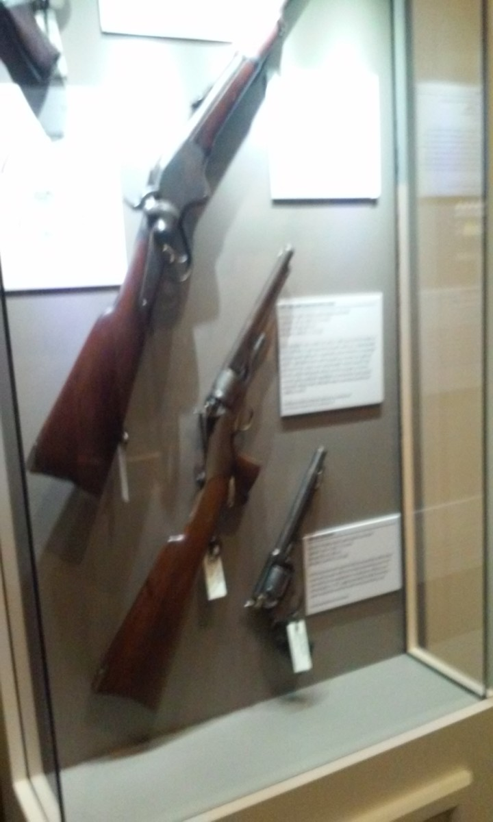 Personal Weapons, Mississippi Armed Foces Museum, Hattiesburg, MS