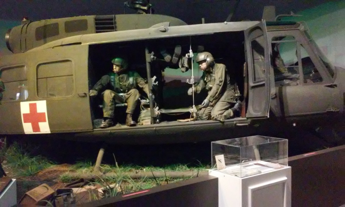 Medical Helicopter, Mississippi Armed Forces Museum, Hattiesburg, MS