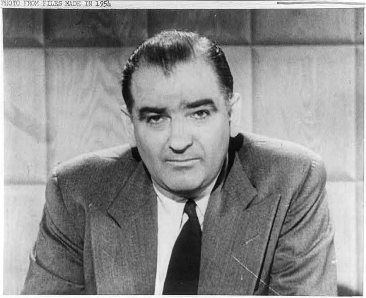Wisconsin Senator Joseph McCarthy