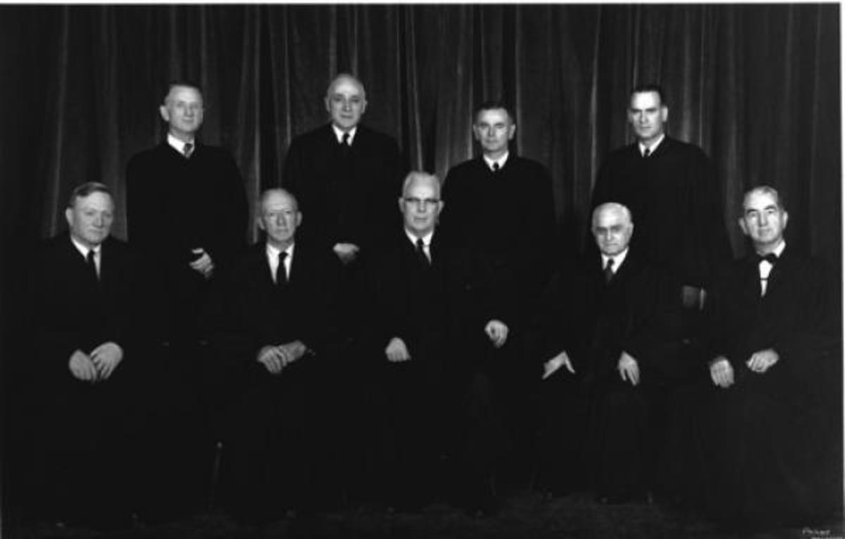 The Warren Court in 1958
