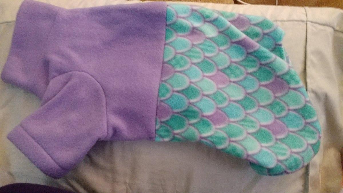 Ziva's mermaid pajamas!