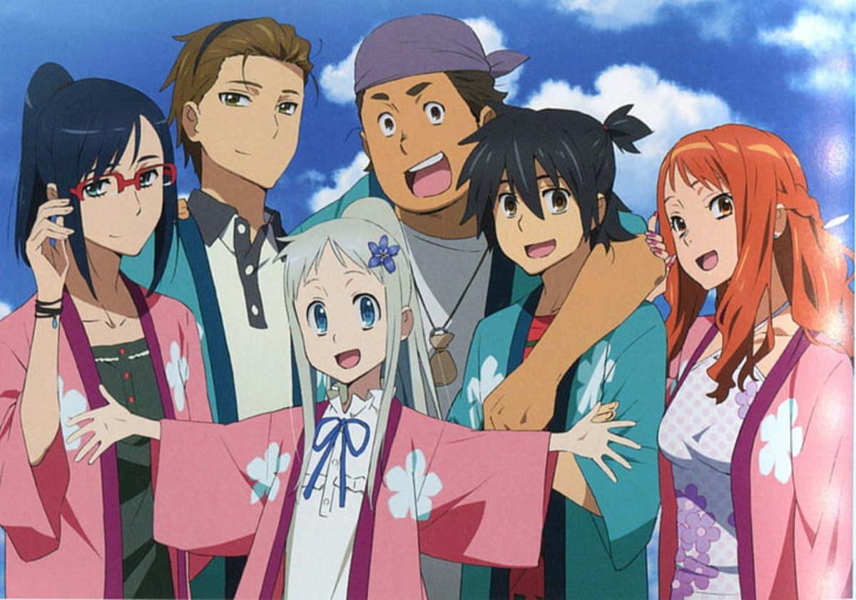 Ano Hi Mita Hana no Namae wo Bokutachi wa Mada Shiranai. (Anohana: The Flower We Saw That Day)