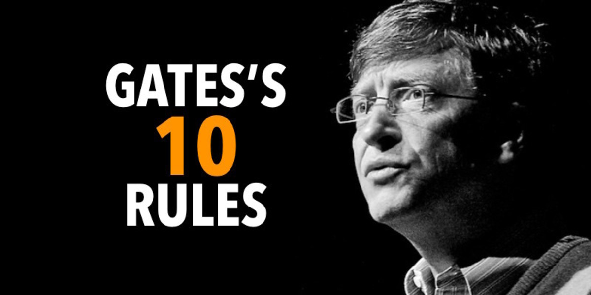 10 Keys to Success: Bill Gates