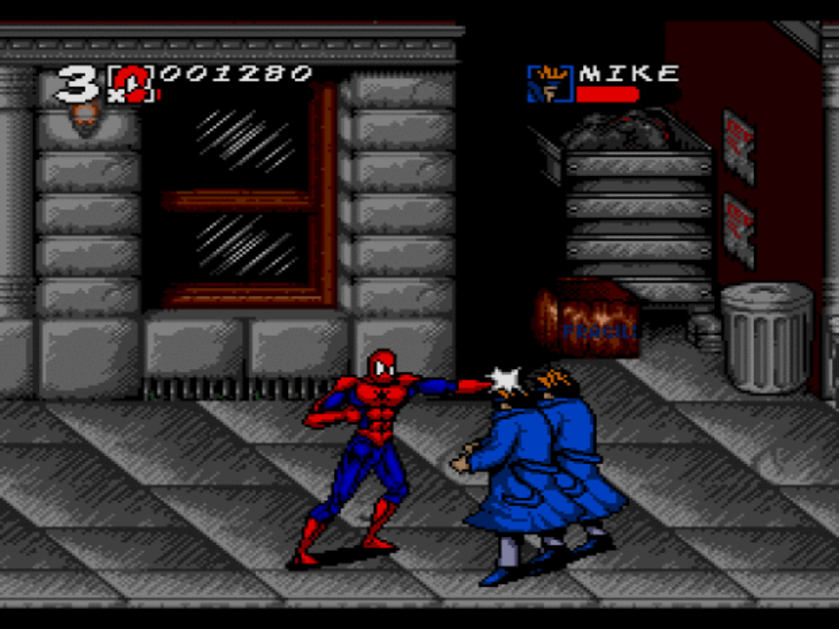Spiderman on the Intellivision Amico