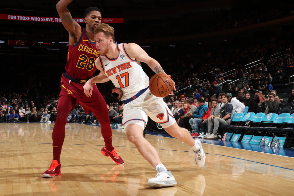 Ignas Brazdeikis Deserves a Bigger Role on the Knicks