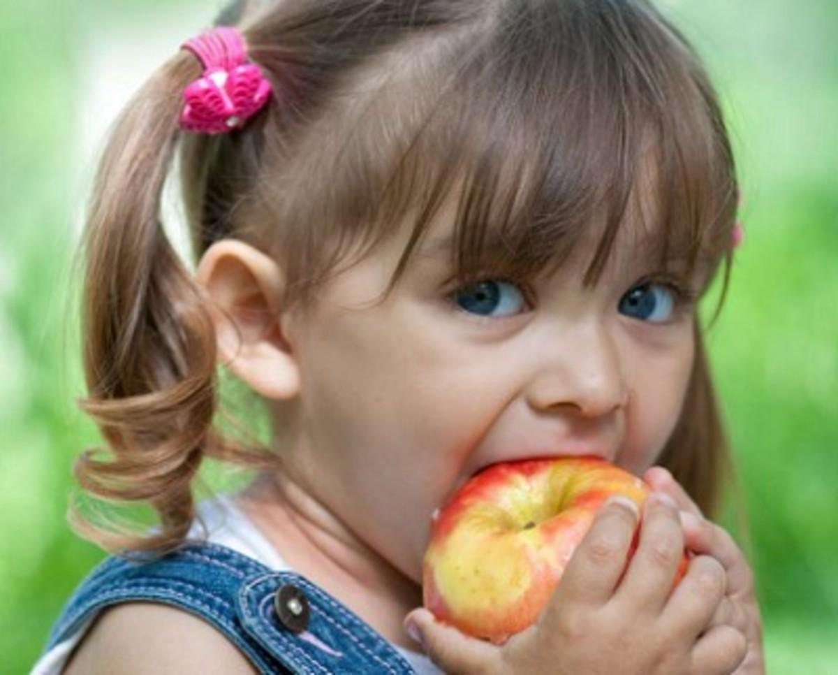 Health Benefits of eating Apple for children