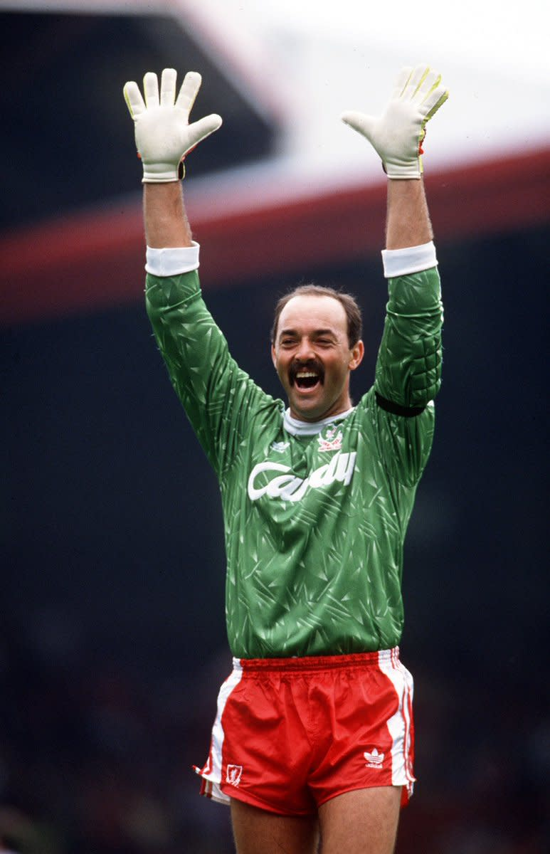 Bruce Grobbelaar during his prime days in the 80s for Liverpool FC