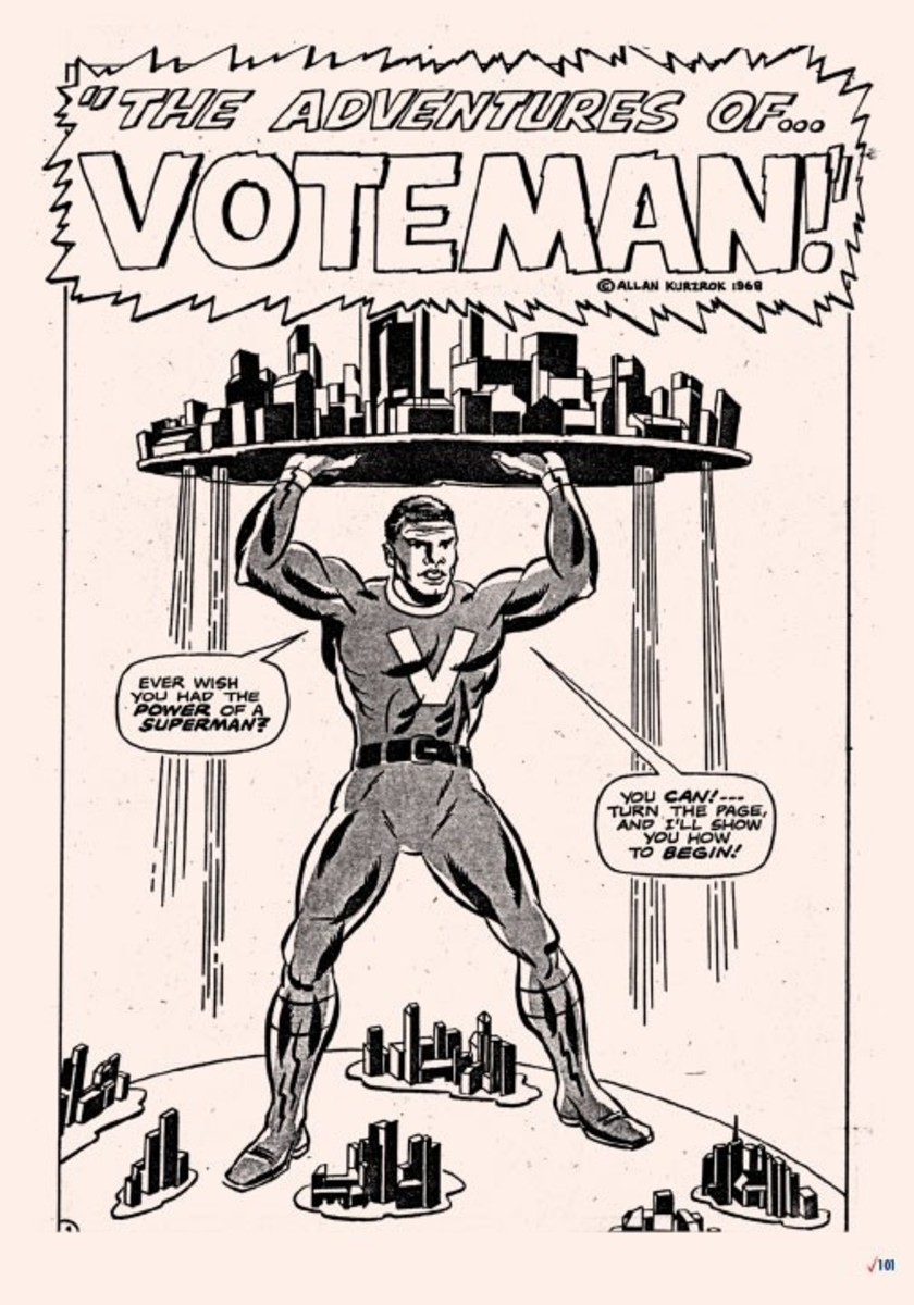 Introducing the world's first African American Superhero!