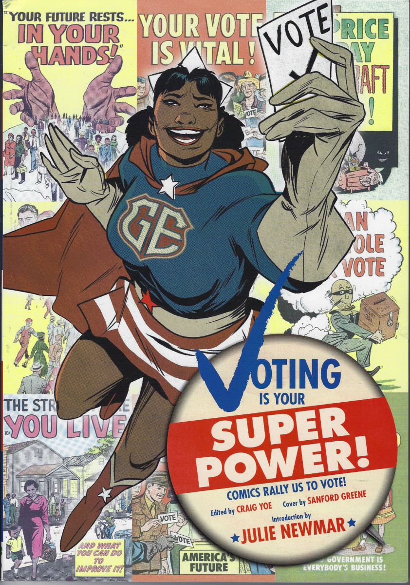 Voting is Your Superpower: It's How We Change the World