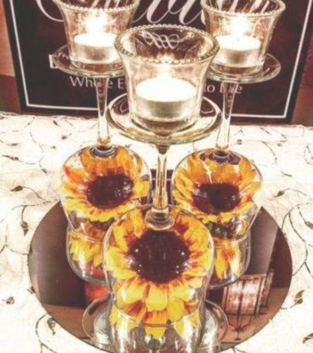 sunflower-wedding-decorations