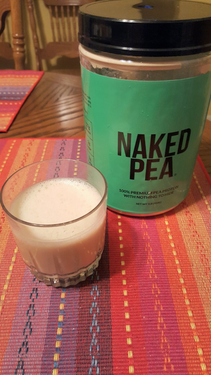 Pea Protein Isolate beverage