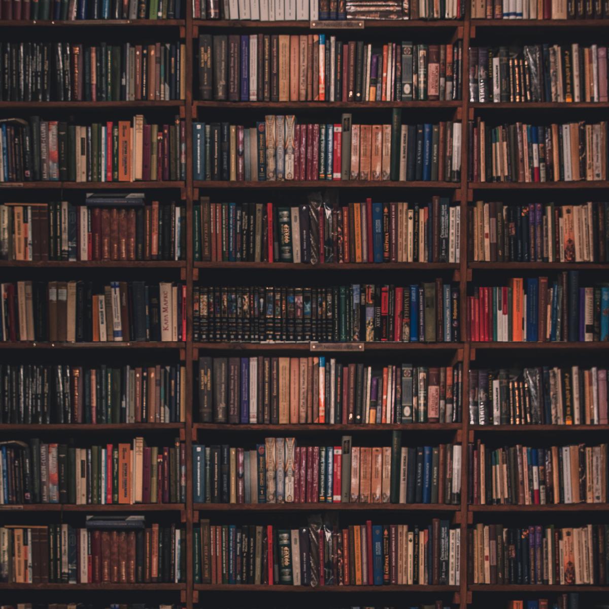 Printable Bookshelf