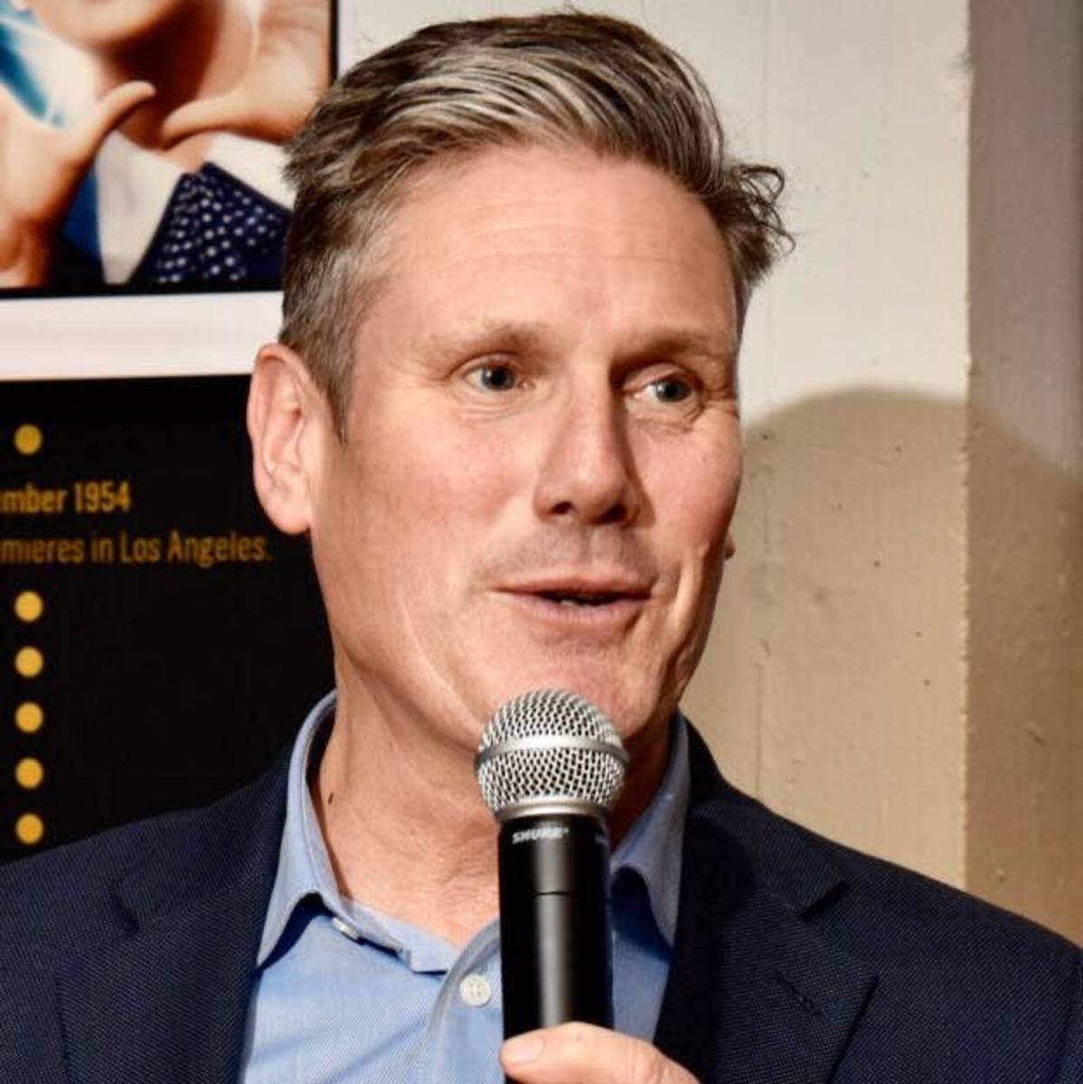 Sir Keir Starmer:  Hoping to put to bed antismeitism.