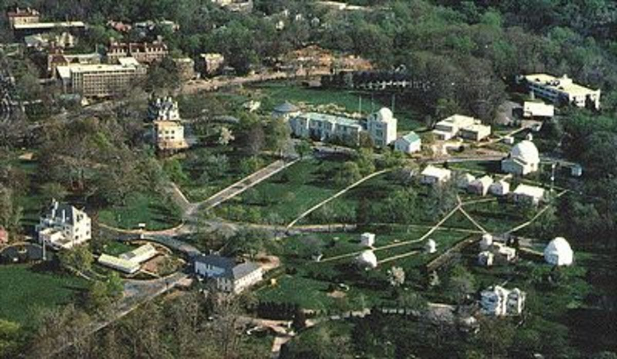 Ariel View of US Navy Observatory