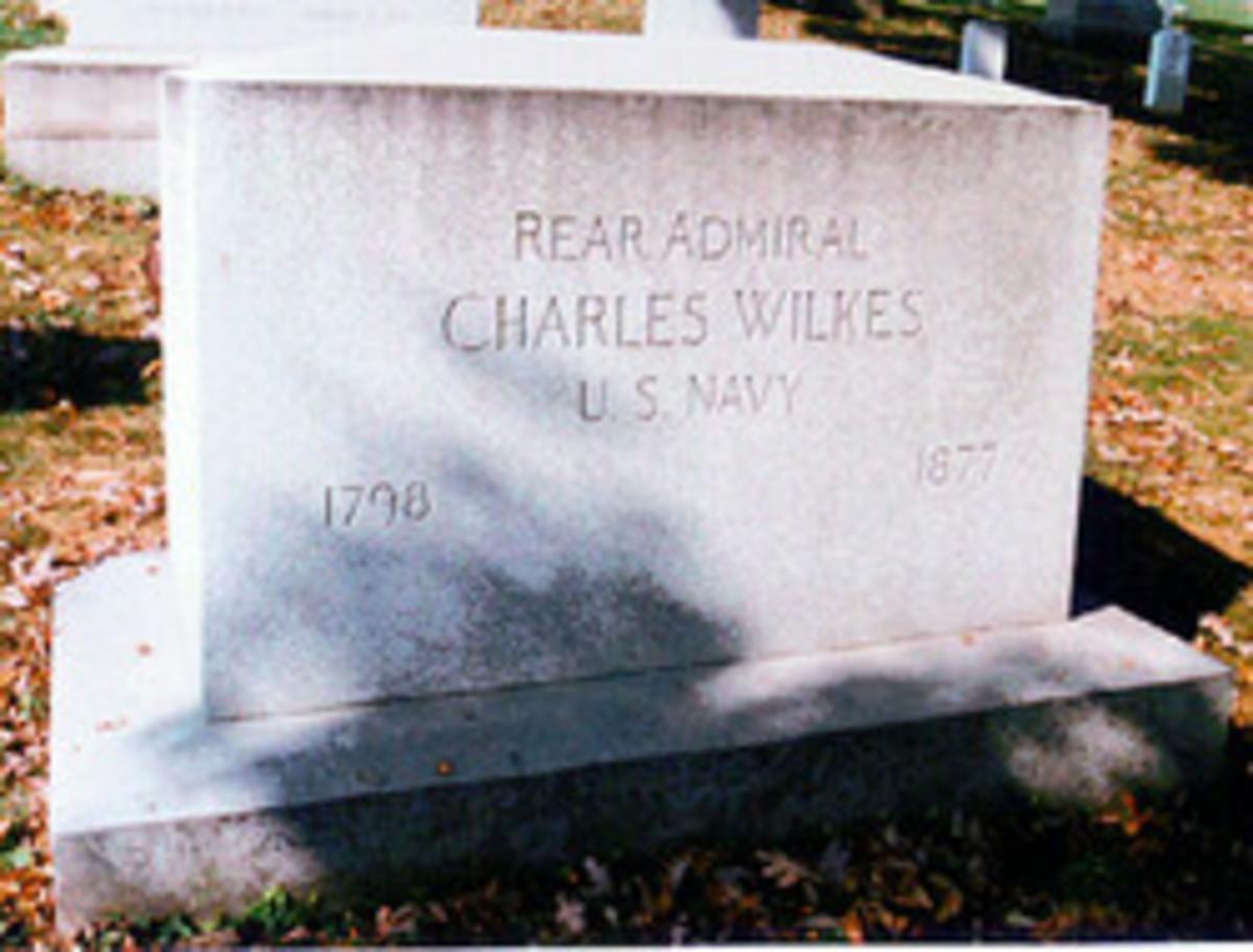 Charles Wilkes Marker