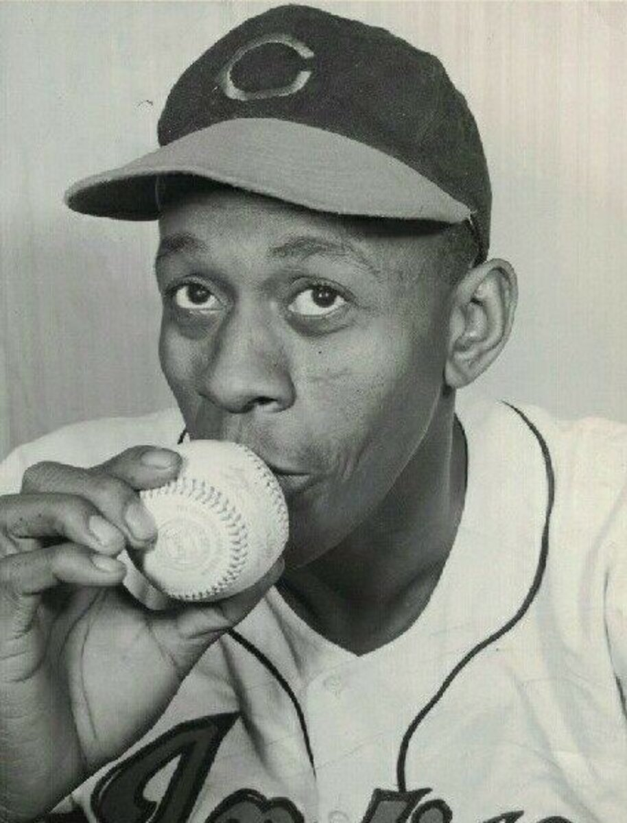 Satchel Paige came to the Indians from the Negro Leagues as a 41-year-old rookie in 1948. He'd win six games in helping Cleveland win the World Series.