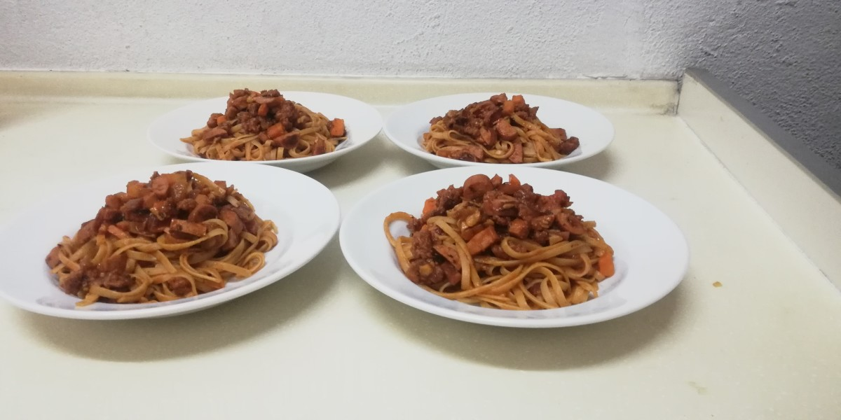 Quick N Easy Bolognaise Pasta Recipe