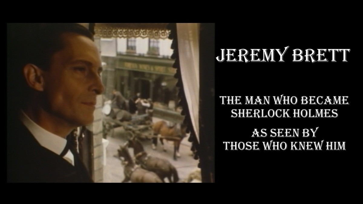 Jeremy Brett as Sherlock Holmes at 221B Baker Street