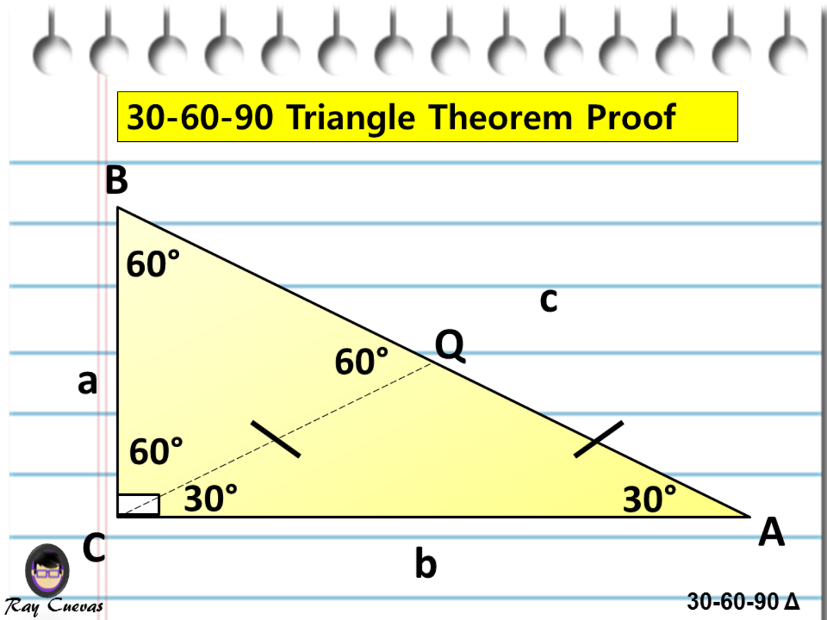 30-60-90 Triangle Theorem Proof