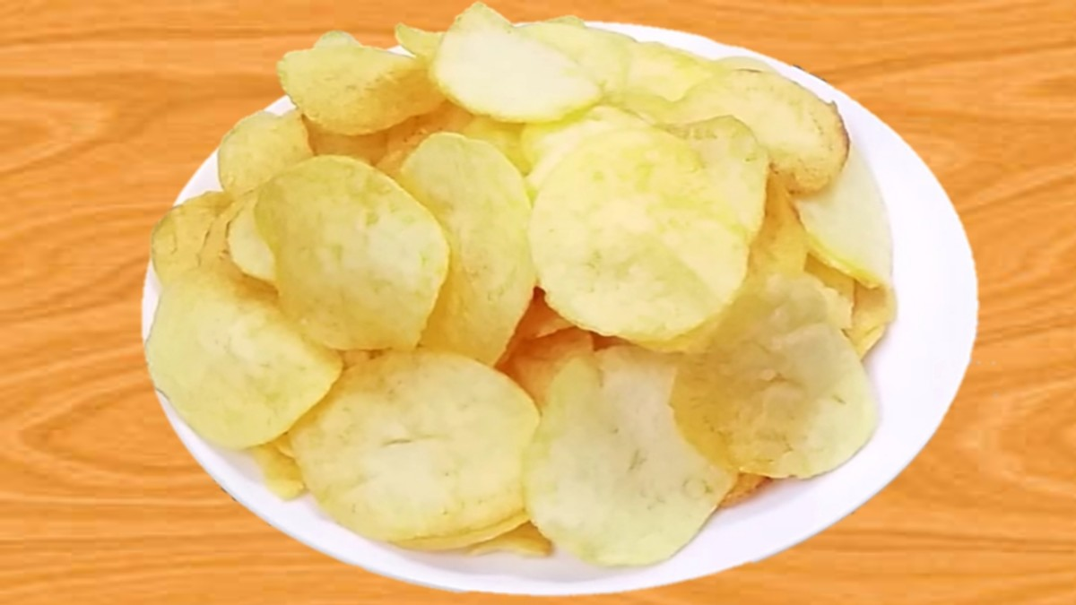 How To Quickly Prepare Potato chips At Home