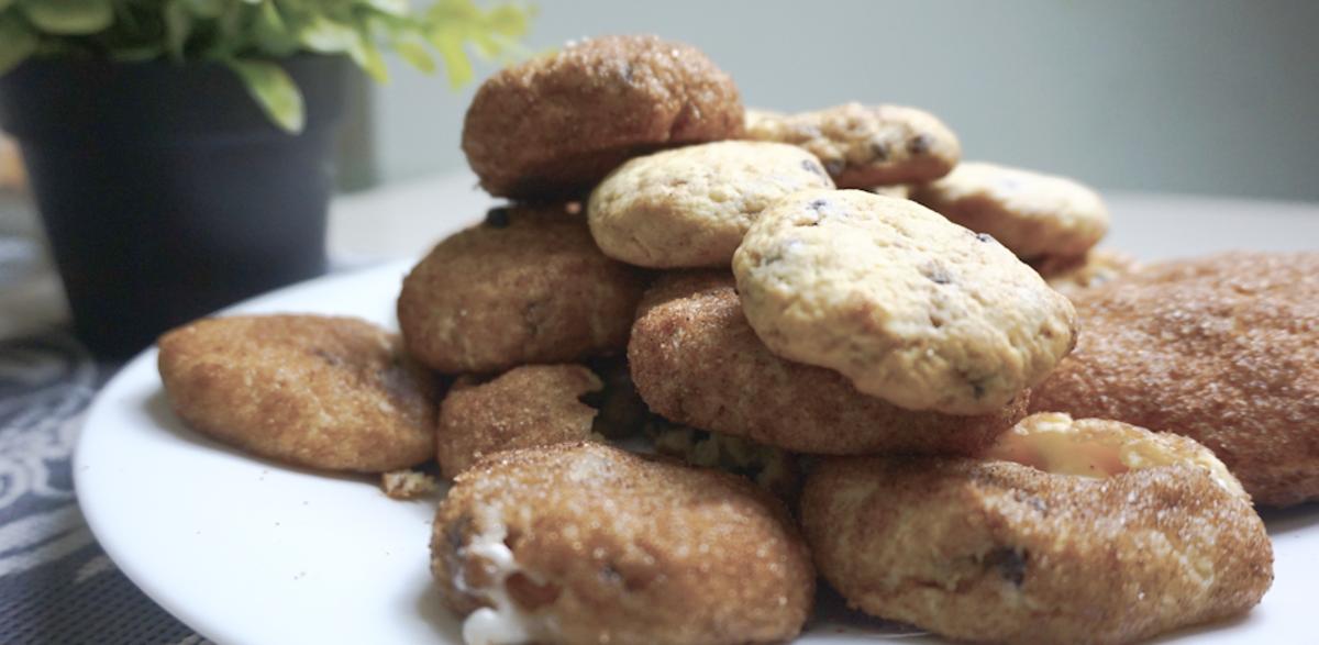 How to Make Best Cream Cheese Stuffed Churro Cookies Recipe