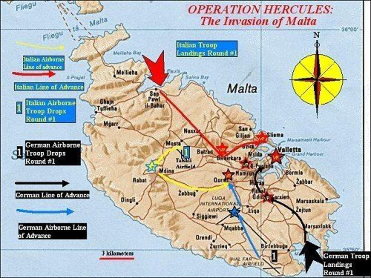 'Operation Herkules' : The Abortive Axis Plan to Invade Malta