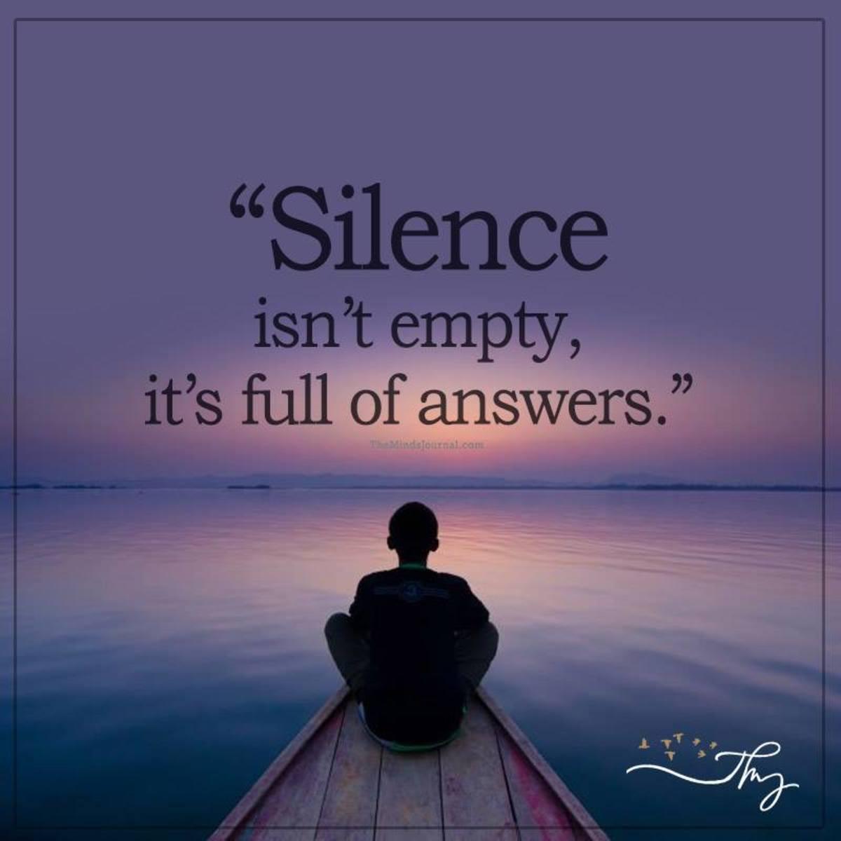A Writer's Battle Against Chaos: Silence vs Soul Silence