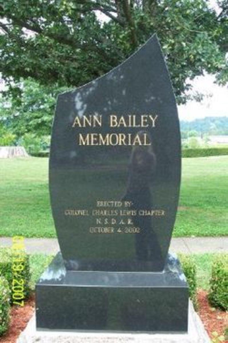 Anne Bailey Marker