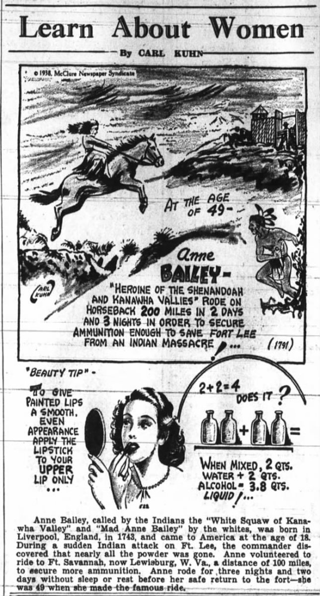 Poster of Anne Bailey