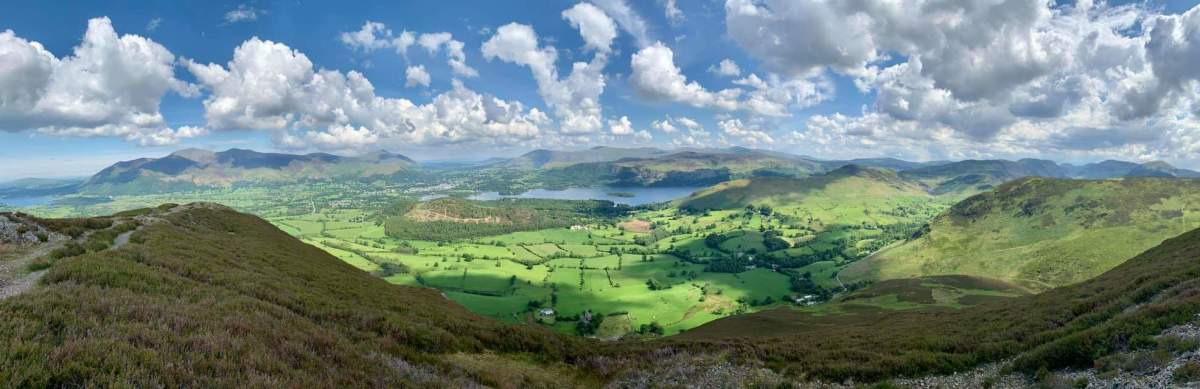 The lakes and fells of the fictional Herdwick District