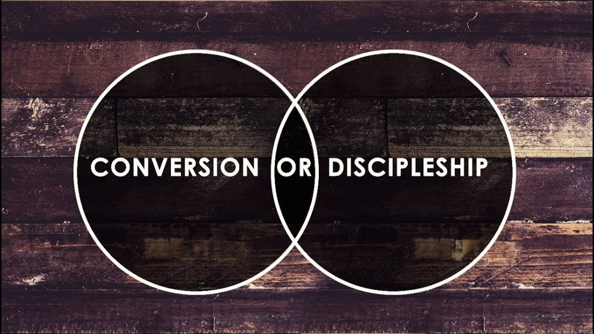 Converts come and go, but a disciple has died to self and now lives for Christ.