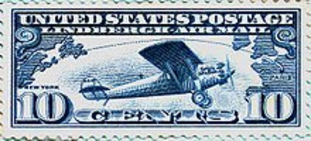 .10 Air Mail Stamp