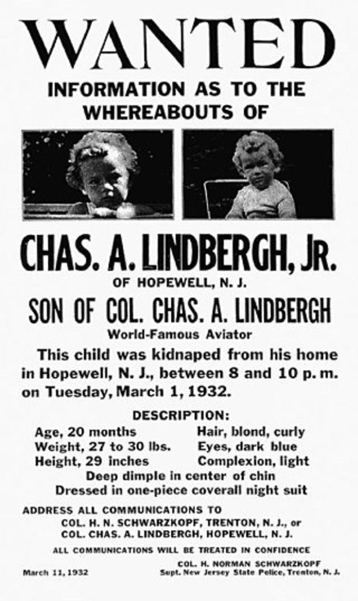 Kidnap and Murder of Lindbergh Baby