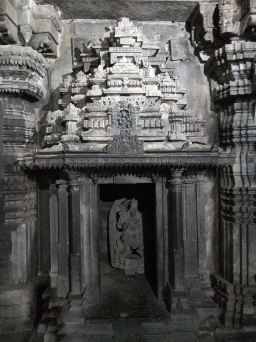 An idol in the Inner Chamber