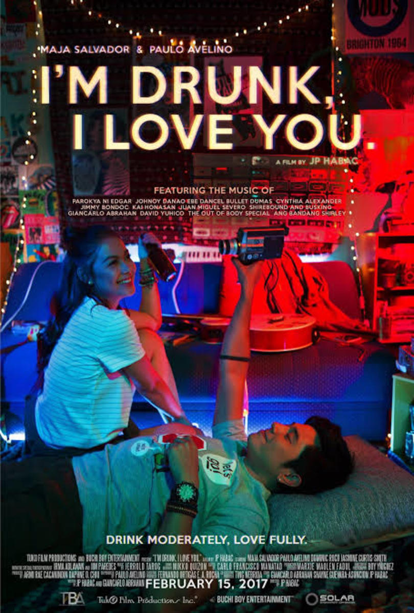 """I'm Drunk, I Love You"" movie poster."