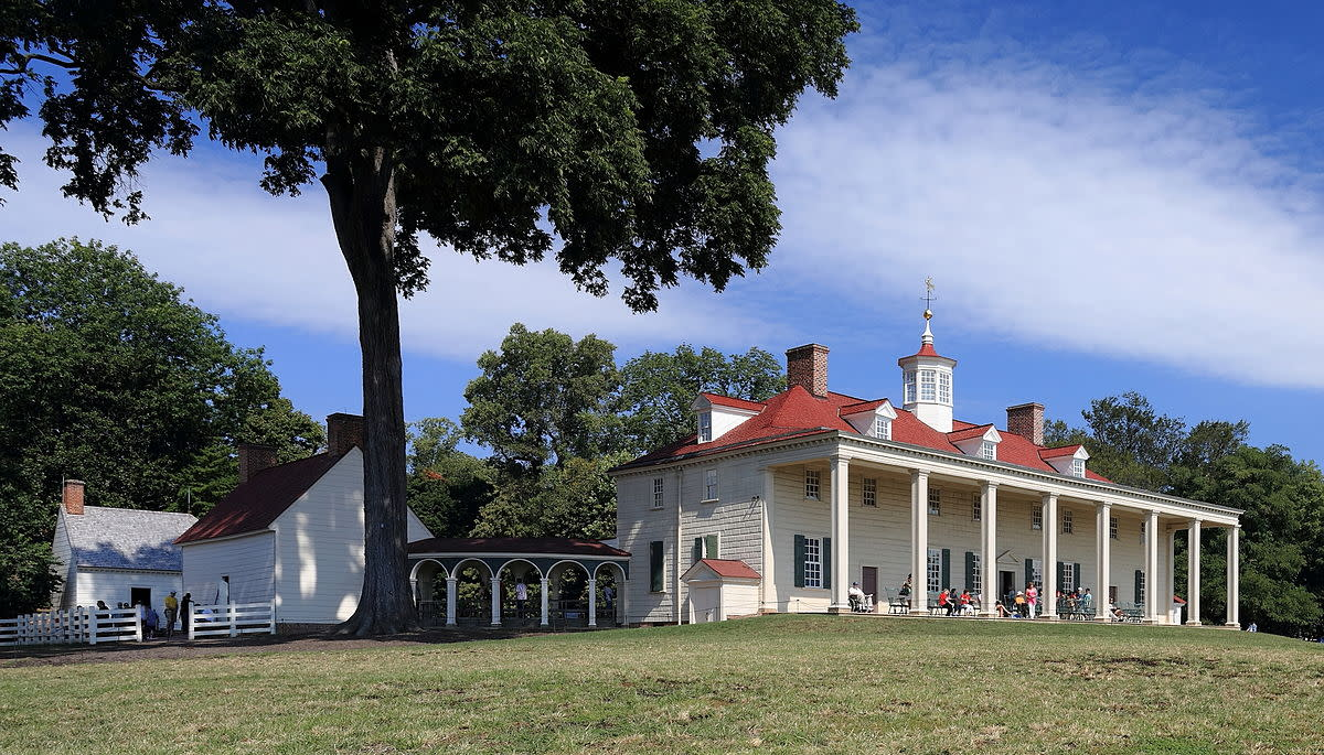 The Mount Vernon estate as it appears today.