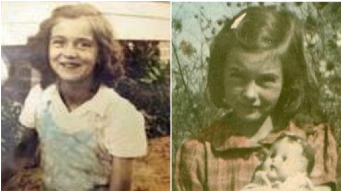Two girls who were murdered