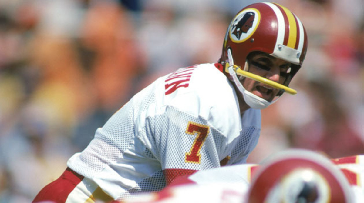 Joe Theismann completed 23 of 36 passes for 339 yards and two touchdowns