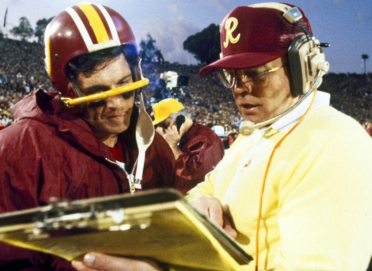 Coach Joe Gibbs was still running Joe Washington on end-around plays and sending Art Monk deep down the middle on fly patterns