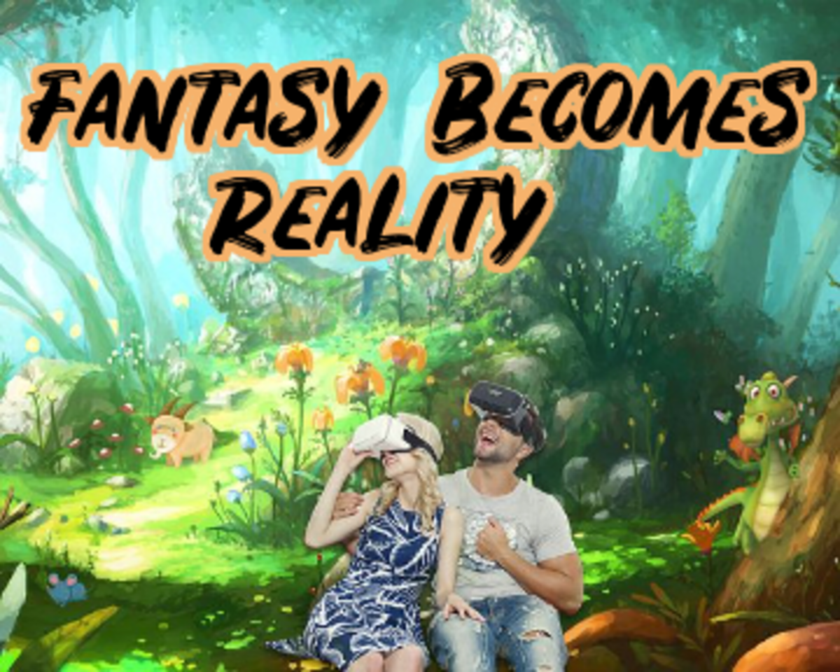Poem: Fantasy Becomes Reality