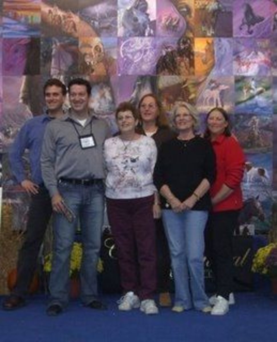 Indiana Congress show, Paul, Phil, Mary, Leslie, me & Pat