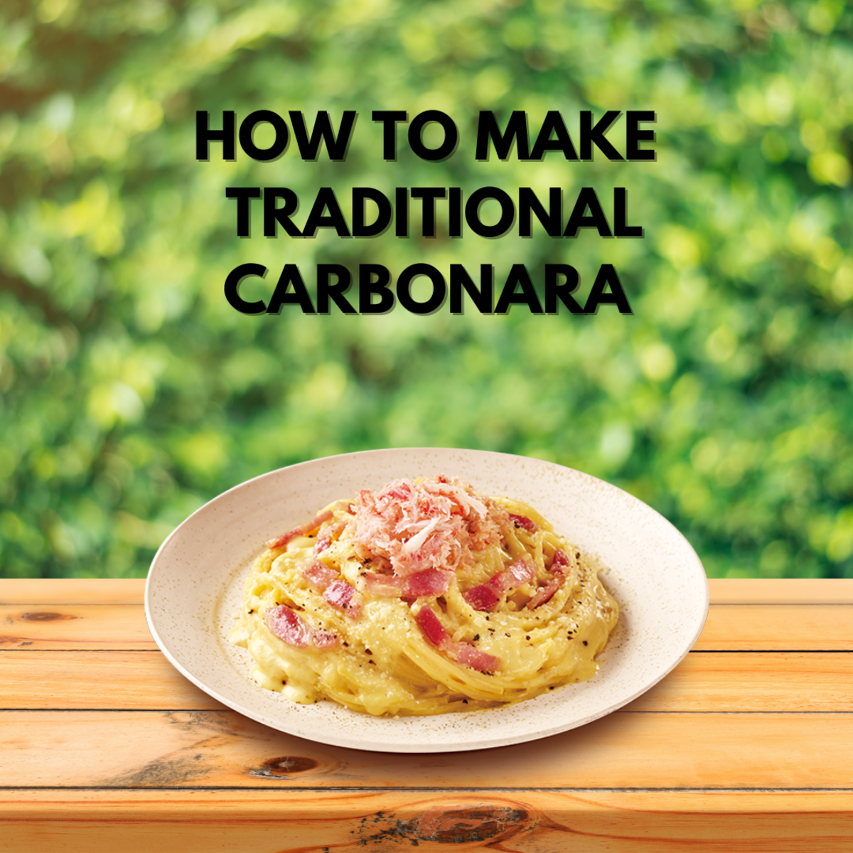 How to make Traditional Carbonara