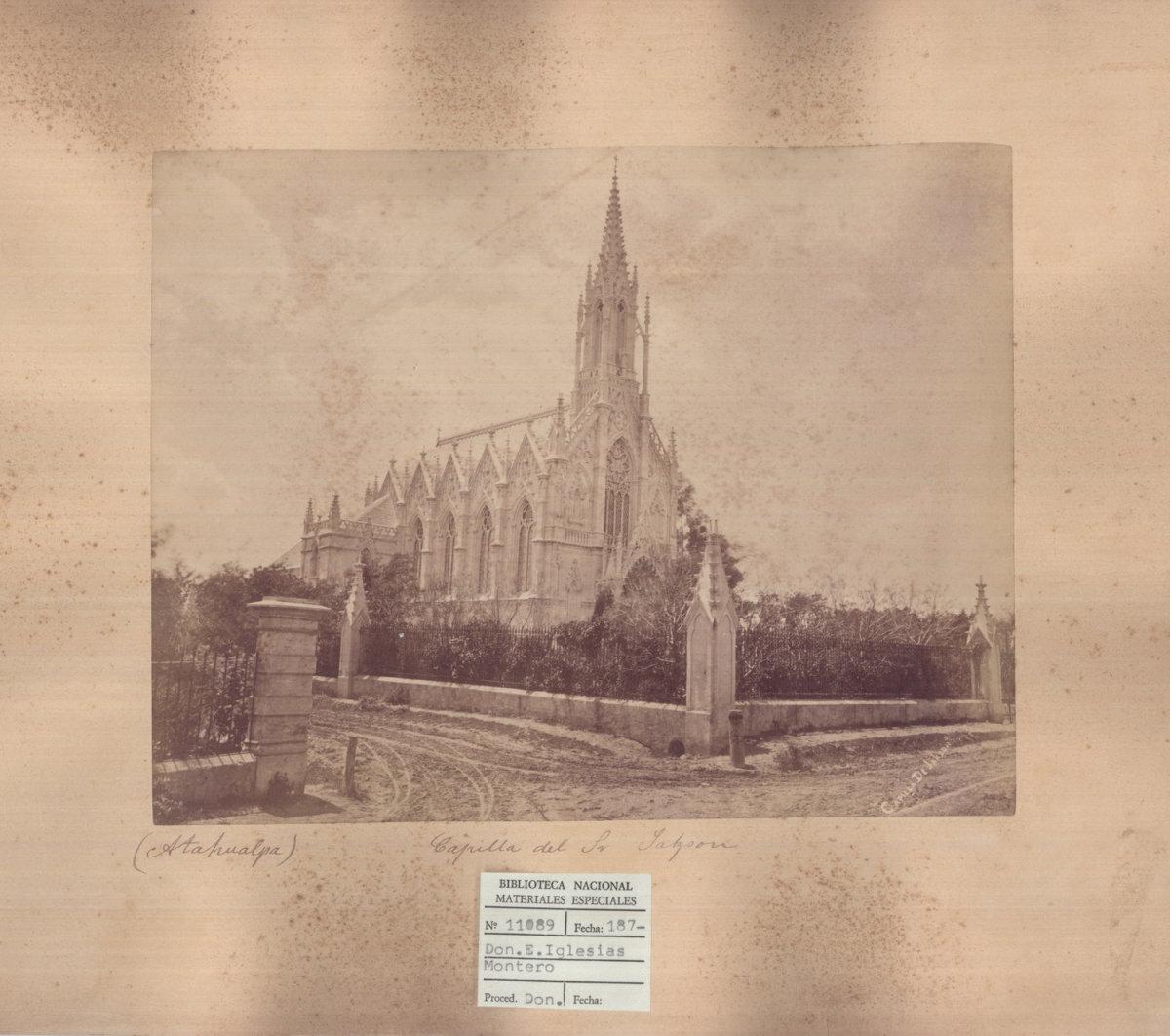 Capilla Jackson, Montevideo, 1880