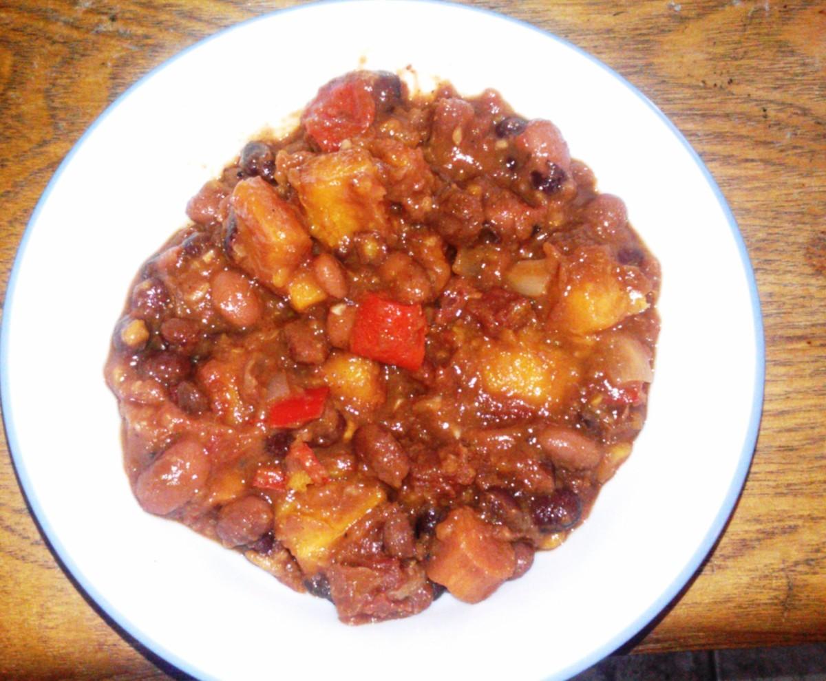 Kid-Friendly Vegetarian Meals: Crock-Pot Sweet Potato Chili