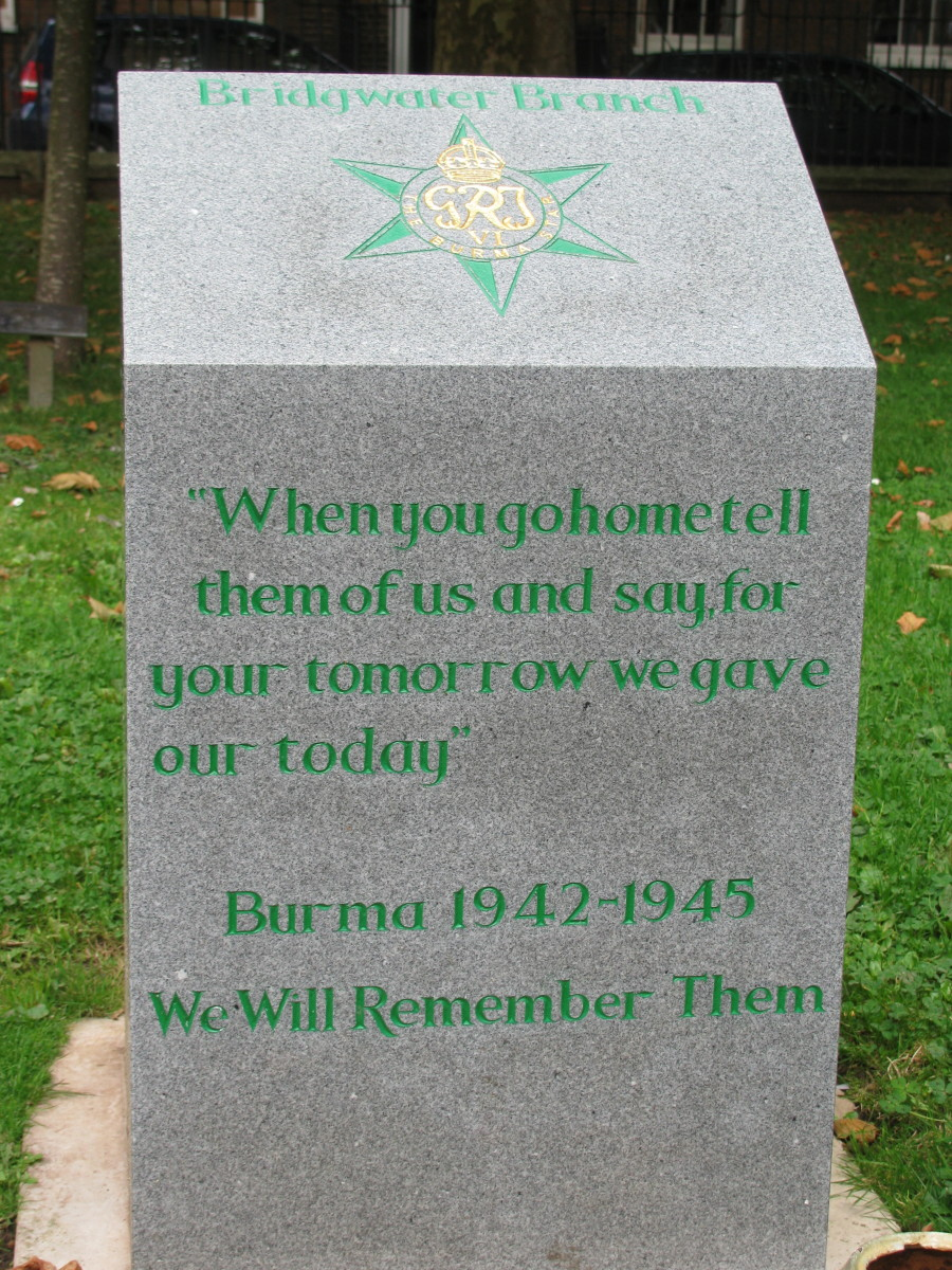 Remembering Soldiers in Burma