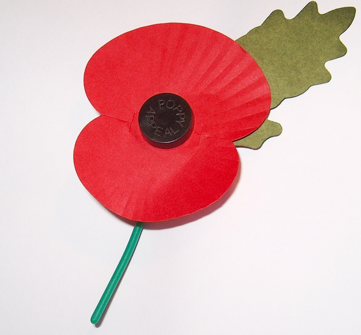 A Poppy to wear on your Lapel