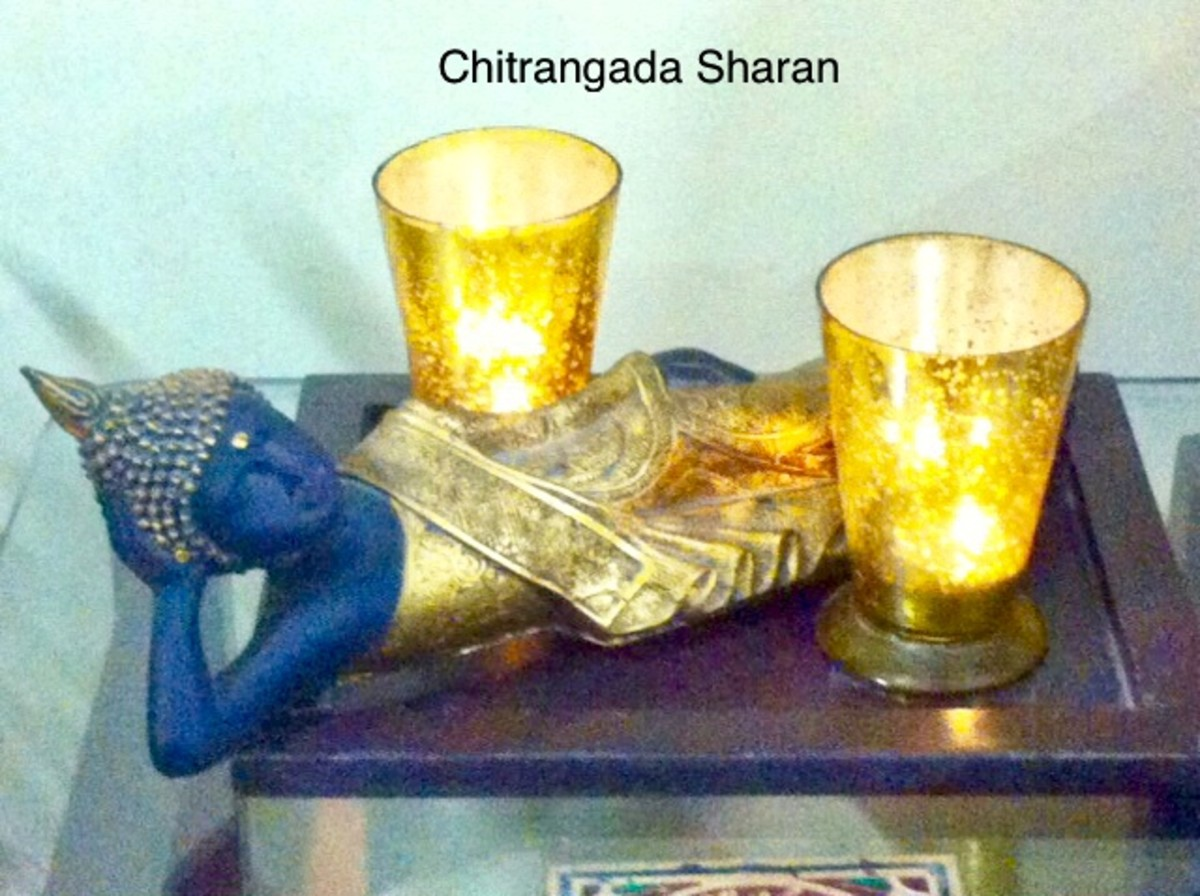 Diwali Gift—Buddha statue with aromatic candles