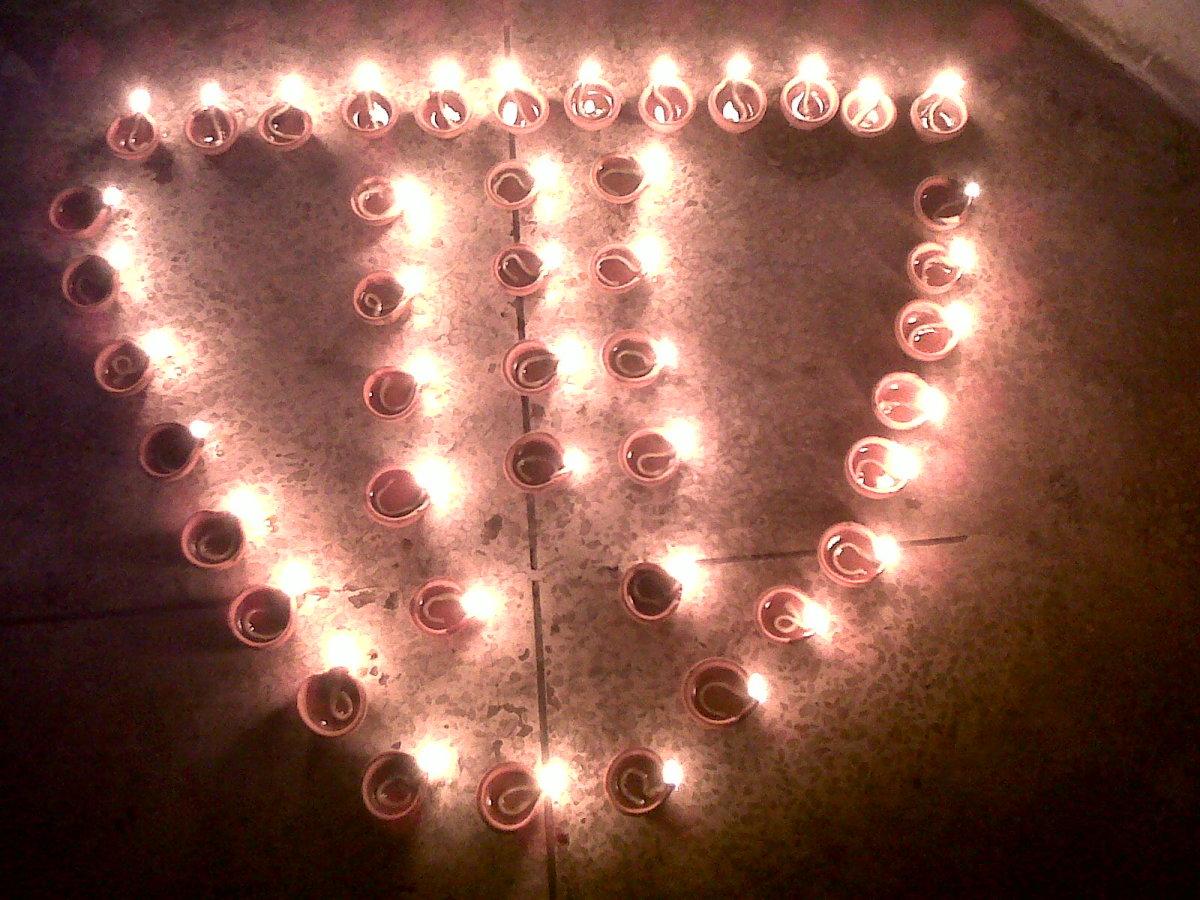 Diwali---The festival of lights!