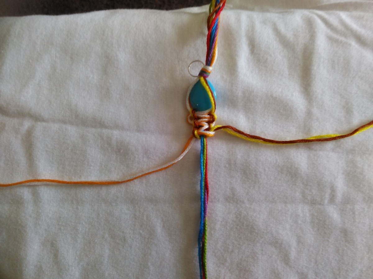Step 10 - Completed 5 knots