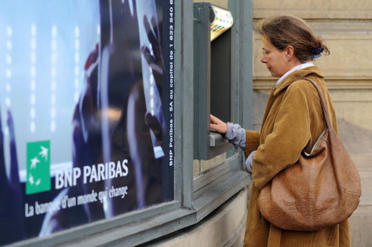 BNP Parisbas ATMs
